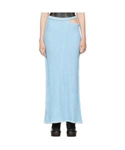 ECKHAUS LATTA | Lapped Fleece Skirt