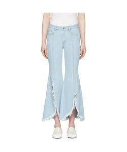 SJYP | Front Cut-Off Jeans