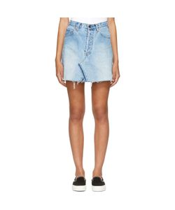 RE-DONE | Levis Edition Denim High-Rise Miniskirt