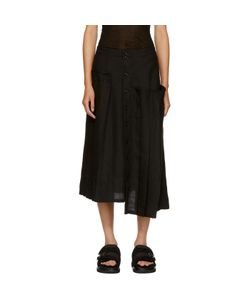 Ys | Asymmetric Pleated Skirt