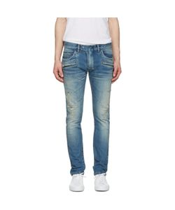 Balmain | Distressed Biker Jeans