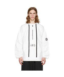 UEG | Tyvekreg Hooded Pullover Jacket
