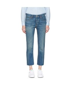 RE-DONE | Relaxed Crop Jeans