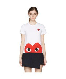 Comme des Gar ons Play | Comme Des Garçons Play Half Heart T-Shirt