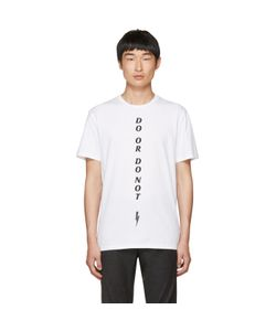 Neil Barrett | Do Or Do Not T-Shirt