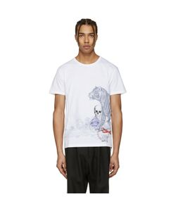 Alexander McQueen | Tiger And Skull T-Shirt