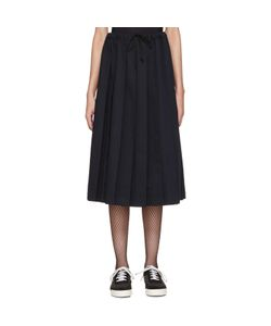 Tricot Comme des Garçons | Pleated Twill Skirt