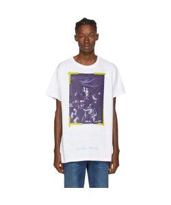 OFF-WHITE   Diagonal Caravaggio T-Shirt
