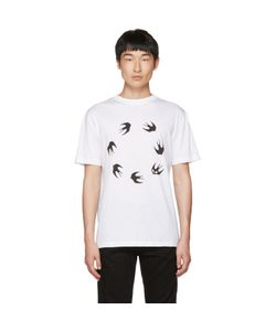 Mcq Alexander Mcqueen | Dropped Shoulder Swallow T-Shirt
