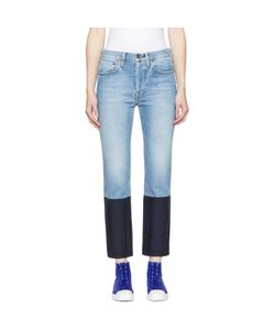 Ports | 1961 And Navy Colorblock Jeans