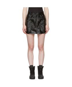 MISBHV | Faux-Leather Miniskirt