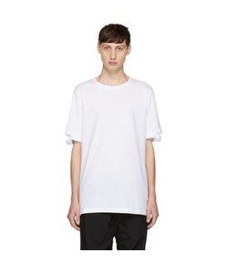 Helmut Lang | Standard Fit Cut Hem T-Shirt