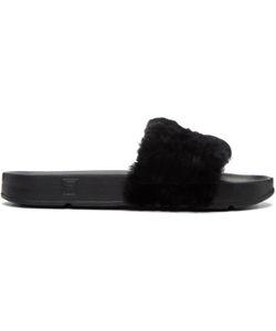 BAJA EAST | Fila Edition Shearling Drifter Sandals