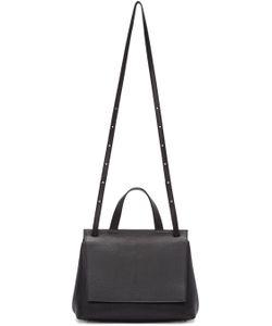 TSATSAS | Black Leather Ada Duffle Bag