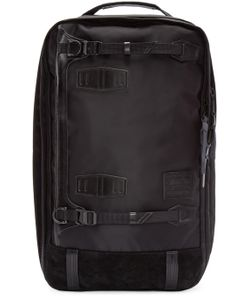 Master-Piece Co | Black Nylon 3-Way Backpack