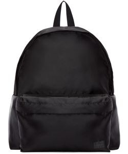 Porter | Black Satin Focus Day Pack Backpack