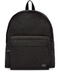 Porter | Black Nylon Smoky Day Pack Backpack