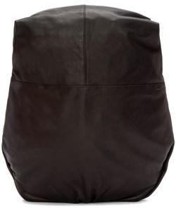 C te and Ciel | Black Leather Nile Alias Backpack