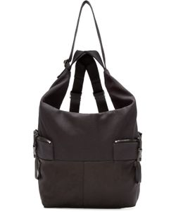 C te and Ciel | Black Medium Ganges Alias Backpack