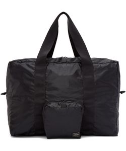Porter | Black Packable Boston Bag