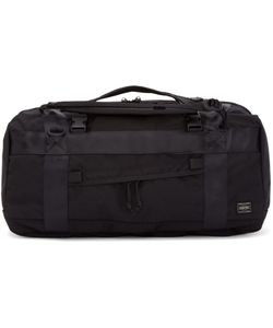 Porter | Black Boot Pack 3way Duffle Bag