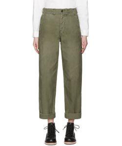 CHIMALA | Green 1943 Military Field Trousers