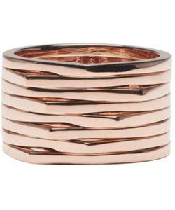 REPOSSI | Rose Gold 8 Rows Antifer Ring