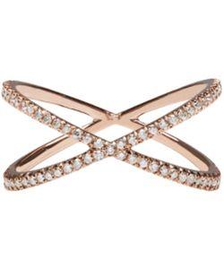Eva Fehren | Rose Gold Diamond Shorty Ring