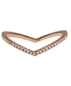 Eva Fehren | Rose Gold Diamond Private Ring