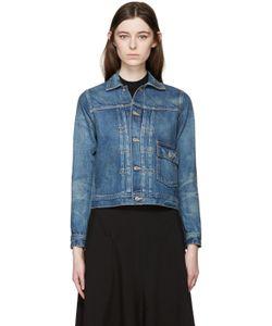 CHIMALA | Blue Selvedge Denim Jacket