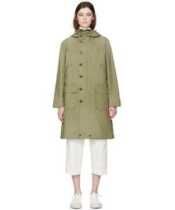 CHIMALA | Green Military Coat