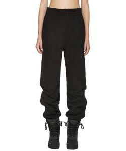 YEEZY SEASON 1   Black Cuffed Lounge Pants