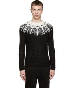 Sasquatchfabrix   Black And White Nordic Sweater