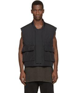 YEEZY SEASON 1   Black Nylon Vest