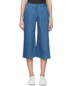 ATEA OCEANIE | Blue Denim Trousers