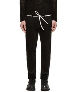 Sasquatchfabrix   Black Corduroy Skinny Trousers