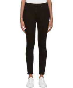 Earnest Sewn | Black High-Rise Blake Jeans