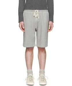 Nigel Cabourn | Grey Gym Lounge Shorts