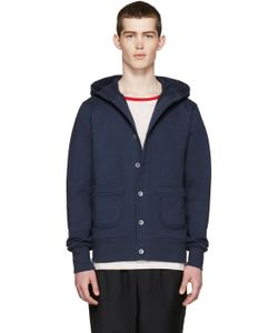 Nigel Cabourn | Terry Hooded Cardigan