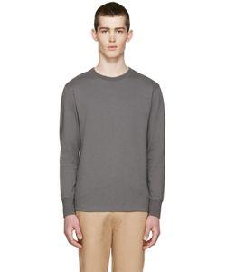 Nigel Cabourn | Grey Long Sleeve T-Shirt