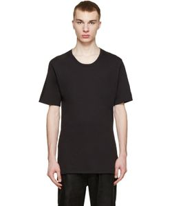 Nude:mm | Nude Mm Black Cotton T-Shirt
