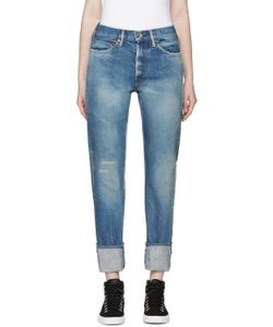 CHIMALA | Blue Narrow Jeans
