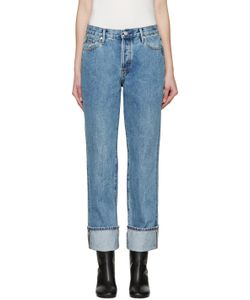 Earnest Sewn | Blue Boyfriend Celine Jeans