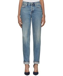 Earnest Sewn | Blue Straight Leg Victoria Jeans