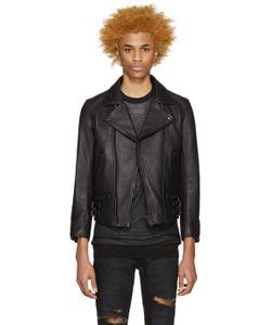 Blackmeans | Leather Biker Jacket