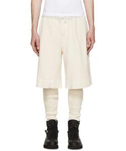 Sasquatchfabrix   Cream Layered Lounge Pants