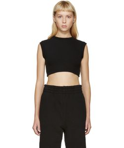 YEEZY SEASON 1 | Black Cropped Tank Top
