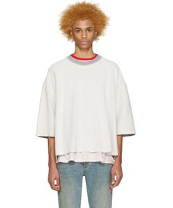 FEAR OF GOD | Off-White Inside-Out Pullover