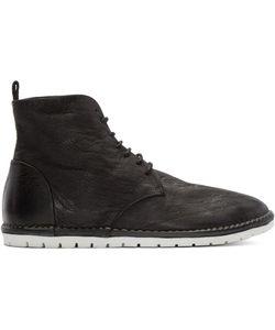 Marsèll Gomma | Black Nubuck Boots