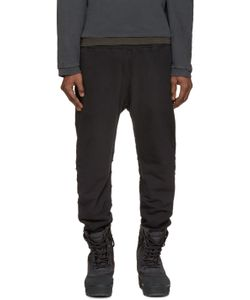 YEEZY SEASON 1 | Black French Terry Lounge Pants